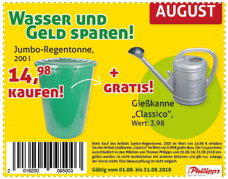 Coupon August