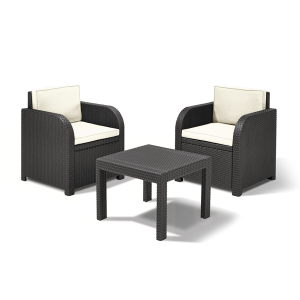 Salon De Jardin Allibert Hawaii Lounge Set Des Id Es Int Ressantes Pour La