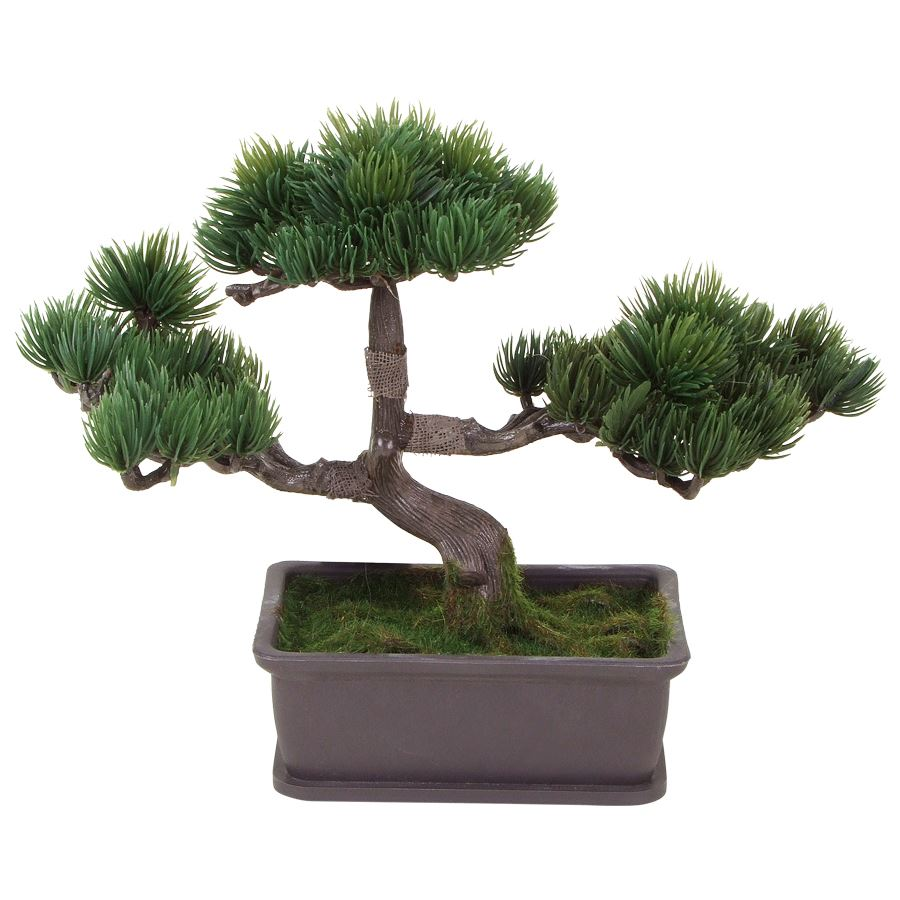 k nstlicher bonsai baum im topf ebay. Black Bedroom Furniture Sets. Home Design Ideas