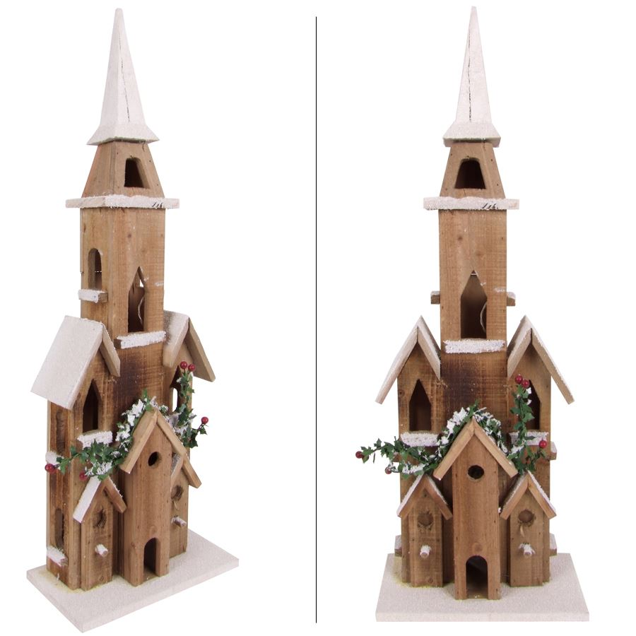 thomas philipps onlineshop weihnachtsdeko holzkathedrale 70cm. Black Bedroom Furniture Sets. Home Design Ideas