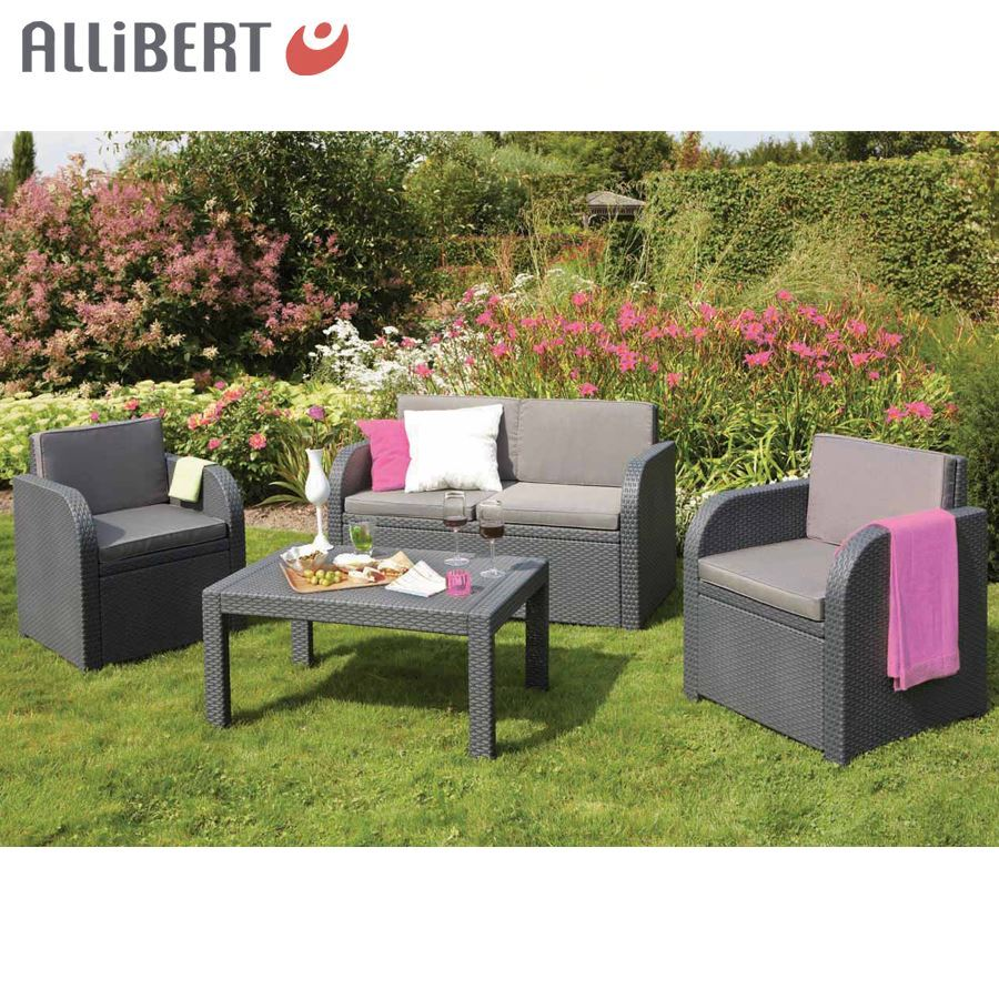 Bild Von Allibert Lounge Gruppe Mississippi Graphit