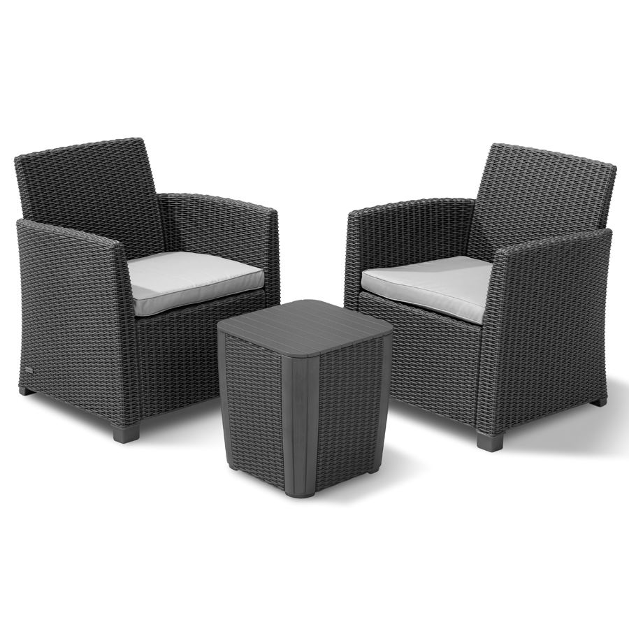 Sessel balkon trendy elegant gartenmbel lounge set gnstig for Balkon lounge set