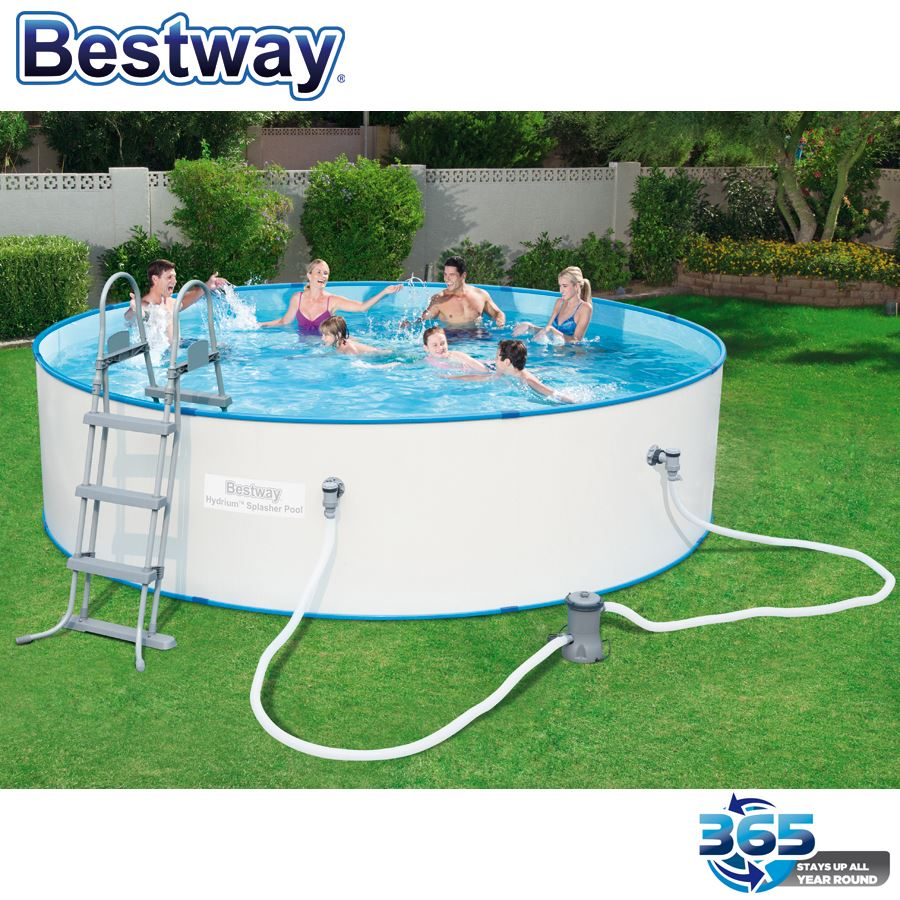 Thomas philipps onlineshop bestway hydrium splasher pool for Garten pool bestway