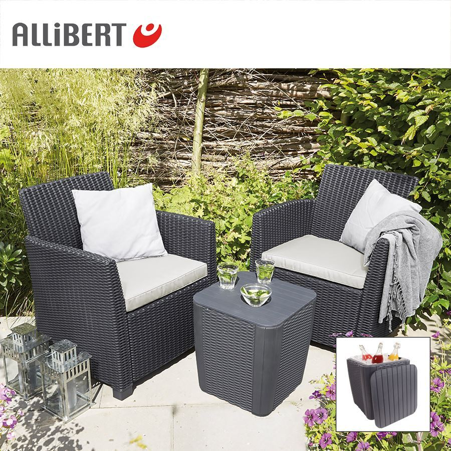 thomas philipps onlineshop allibert balkon loungegruppe merida graphit. Black Bedroom Furniture Sets. Home Design Ideas