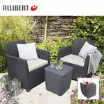 Bild von Allibert Balkon-Loungegruppe Merida Graphit