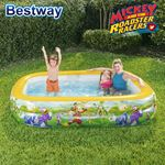 Bild von Bestway Planschbecken Mickey and the Roadster Racers 262x175x51cm