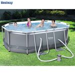 Bild von Bestway #56617 Power Steel Oval Pool-Set 300x200x84cm