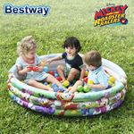 Bild von Bestway Mickey and the Roadster Racers Bällebad/Planschbecken 122x25cm