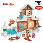 Bild von PlayBIG BLOXX Masha and the Bear Winterhaus